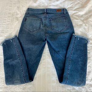Paige ankle length jeans